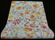"6330-04) tessuto non tessuto moderno carta da parati ""My Garden"" colori vivaci fiori prato"