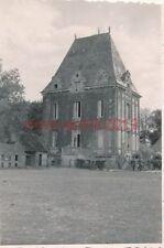 3 x Foto, Dr. Michel, 44.ID, Schloss Marivault, Rouen, Frankreich, 1940 (W)1577