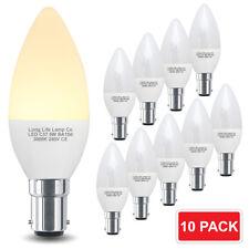 10 X 5 W LED Bombilla Vela B15 SBC helado de ahorro de energía Lámpara LED Paquete de 10