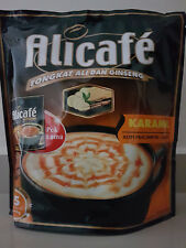 Alicafe Tongkat Ali and Ginseng Caramel 15 Sac x 40g Halal Coffee FREE Ship 5in1