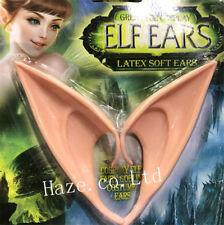 Rubber Fairy Pixie Elf Fake Ears Cosplay Accessories LARP Halloween Props