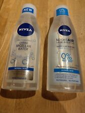 2x Nivea Caring Micellar Water Normal Skin 200ml new and sealed#FREE UK DELIVERY