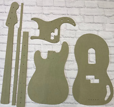 Guitar Template Set Precision Bass cnc made 100% accurate templates .
