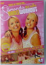 Samanda The Twins - Dance Workout - Brand New Sealed DVD Free UK P&P