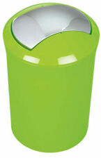 Spirella Sydney Kiwi Green Trash Can Bucket 5 Litre Swiss Design