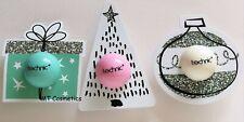 Technic Christmas Lip Balm Trio Bauble Tree Present Vegan Friendy Xmas Stocking