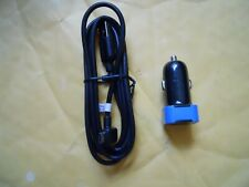 OEM TomTom Micro USB Cabel with Genuine Car charger adapter bundle