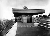 Photo 1899 NSW, Australia.  Katoomba Railroad Station