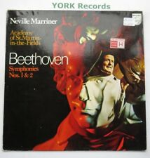 6500 113 - BEETHOVEN - Symphonies No 1 & 2 MARRINER AoSMITF - Ex Con LP Record