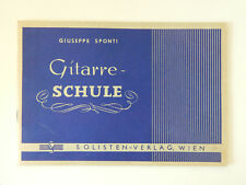 Gitarre-Schule Giuseppe Sponti Solisten Verlag Wien
