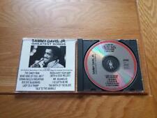 SAMMY DAVIS JR GREATEST SONGS ( CURB ) 10 TRACKS 1990 USA