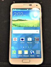 Samsung Galaxy S5 G900 (UNLOCKED) + WHITE - Excellent condition ---!!!