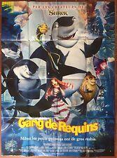 Affiche LE GANG DES REQUINS Shark Tale BERGERON Jenson LETTERMAN 120x160cm *D