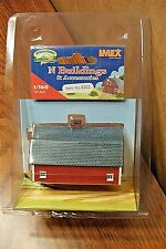 IMEX N SCALE STENGALS BARN RESIN BUILT-UP BUILDING