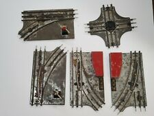 Marx Train Manual Switches and Four Way Metal Vintage Tested