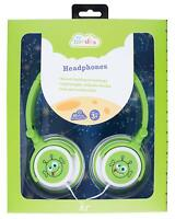 KitSound Doodle Children's Character 85dB Volume Limiting Alien Headphones - NEW