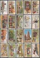 1904 John Player & Sons British Empire Series Tobacco Cards Complete Set of 50