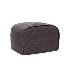 Large Cotton Quilted Four 4 Slice Toaster Cover Protection Kitchen Clean Decor