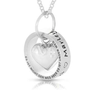 Namenskette Ring Gravur Geschenk Mama Muttertag 925 Silber