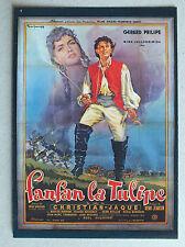 CP DU FILM - FANFAN LA TULIPE AVEC GERARD PHILIPE - NUGERON E44 *