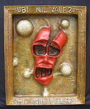 "Original art - ""Ubi Nil Vales Ibi Nil Velis"" - mixed-media 3-D"