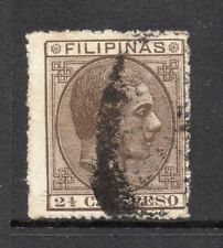 Philippines 1880s Classic Alfonso Used Value 2.5c. 182402