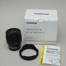 Tamron 20mm F2.8 Di III OSD M1:2 für Sony E-Mount Vollformat