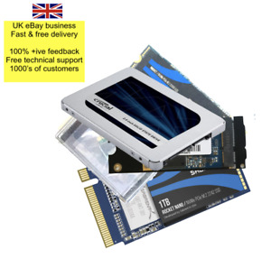 Macbook/Pro/Air SSD 1TB Upgrade for most 13/15 models. Mac formatted Boot loader