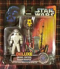 1996 Star Wars Stormtrooper Delux Crowd Control Flight-Action Thruster Pack Nip