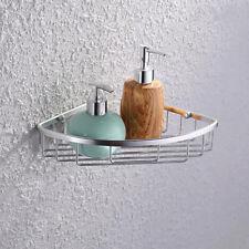 Stainless Steel Shower Caddy Corner Basket Shelf Bathroom Wall Mounted Holder
