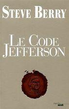 Le Code Jefferson von Berry, Steve | Buch | Zustand gut