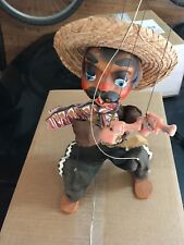 Vintage Mexican Mexicain puppet marionette.