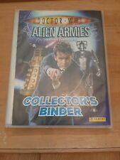 Doctor Who Alien Armis Binder Cards Lot inc limited edition and foil