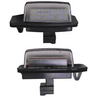 1X(2Pcs 12V Led Canbus Led License Plate Light For Mitsubishi Outlander 200V4V4)