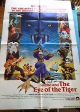 SINBAD AND THE EYE OF THE TIGER - FILM POSTER SIGNED BY RAY HARRYHAUSEN