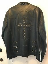 REDUCED Men's Affliction Leather Jacket Size 2XL Limited Edition 1278/1400 NICE