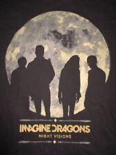 "2013 IMAGINE DRAGONS ""Night Visions"" Concert Tour (SM) T-Shirt"