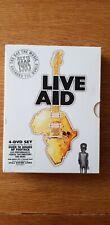 Live aid 1985 dvd 4 disc