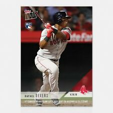 2018 TOPPS NOW #97 1ST CAREER GRAND SLAM LIFTS RED SOX TO VICTORY RAFAEL DEVERS