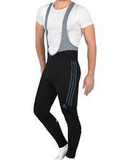 Adidas 3S Winter Radhose Herren Kinder Fahrrad Hose Trägerhose Bike Pant schwarz
