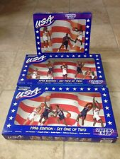 Starting Lineup Team USA Basketball 1996 Sets 1 2 3 Total of 13 Figures MIB