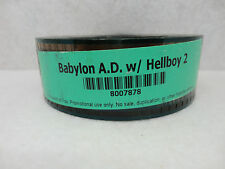 Babylon A.D. w/ Helboy 2 35mm Theater Movie Trailer, Teaser, Film, Cells