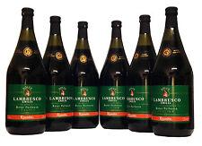 (4,61€/L) Lambrusco Dolce Cantine Riunite (6 X 1,5L) Perlwein rot süß 7% Vol.