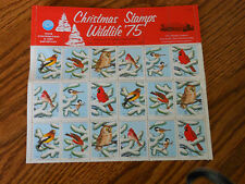 National Wildlife Federation 1975 Christmas Stamps