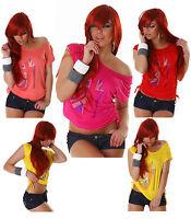 Sexy Women Clubbing Shirt Clubbing Blouse Ladies Party Top Size 6 8 10 12 S M L