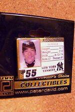 NY N.Y. New York Yankees Hideki MATSUI Photo card pin MLB
