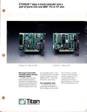 Titan IBM PC and XT Boards - Original Advertising Flyer