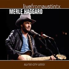 MERLE HAGGARD LIVE FROM AUSTIN TX COUNTRY CD NEW