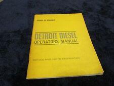 Series 53 Detroit Diesel Engines Operators manual