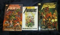 Retail $70 Marvel Lot 3 Books The New Avengers Assemble 2 Hardcover 1 softcover